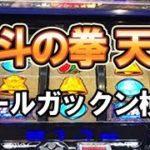 【パチスロ北斗の拳 天昇】リールガックン検証