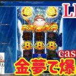 【オンラインカジノ】CasinoXでゴールデンドリームやるわ!【ノニコム】