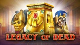 【オンラインカジノ】Legacy of Dead【ビデオスロット】