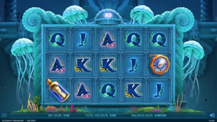 Ocean's Treasure 海の宝と言う最新のオンラインカジゲームを使って一気にお金を稼ぐチャンス!!