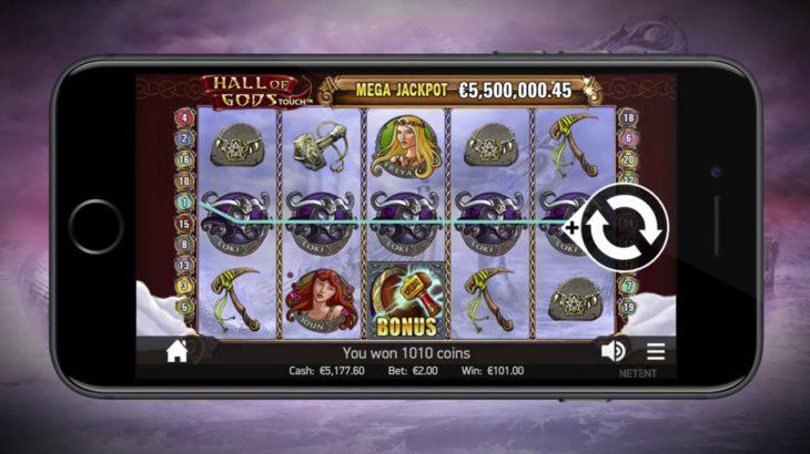 Hall of Gods Touch はオンラインカジノゲームで人気中! 楽しく稼ぐオンラインカジノは簡単に登録して始められます!