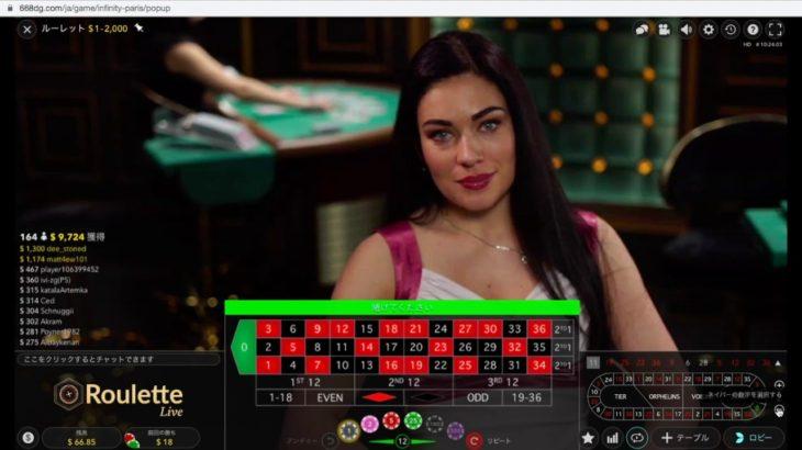カジノゲームのルーレットは稼げる?ルール紹介&オンラインカジノで実践!