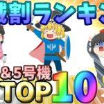 【驚愕!?】パチスロ4号機&5号機 機械割TOP10!!!