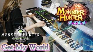 パチスロ モンスターハンター月下雷鳴 Get My World 弾いてみた。