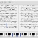 パチスロ モンスターハンター月下雷鳴より「Get My World」ピアノ 楽譜